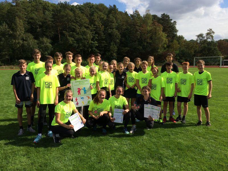 Gymnasium Wentorf Leichtathleten Des Gymnasium Wentorf überzeugen